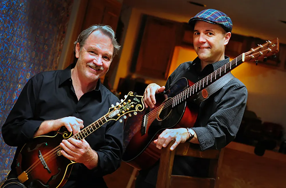 Steve Smith and Tim May, musicians